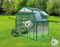 2015 New Free shipping Barn Style Double Door Hobby Greenhouse-10 Years Warranty