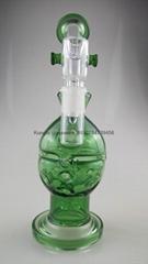 新款高硼硅玻璃煙槍水煙