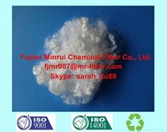 Recycled Polyester Staple Fiber HCS 15D*64mm