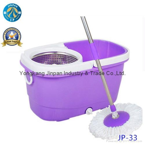 Cleaning Product Microfiber Spin 360 Mop Bucket 2