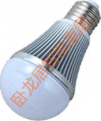 智能LED彩色球泡灯
