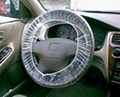 Clear HDPE plastic steering wheel cover