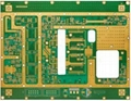 FR-4 and Rogers 4350b mixed pcb board