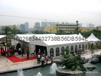 上海尖頂帳篷租賃 4
