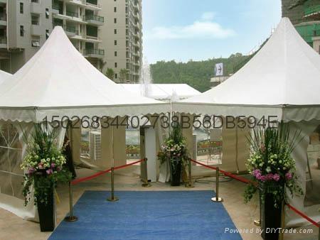 上海尖頂帳篷租賃 3
