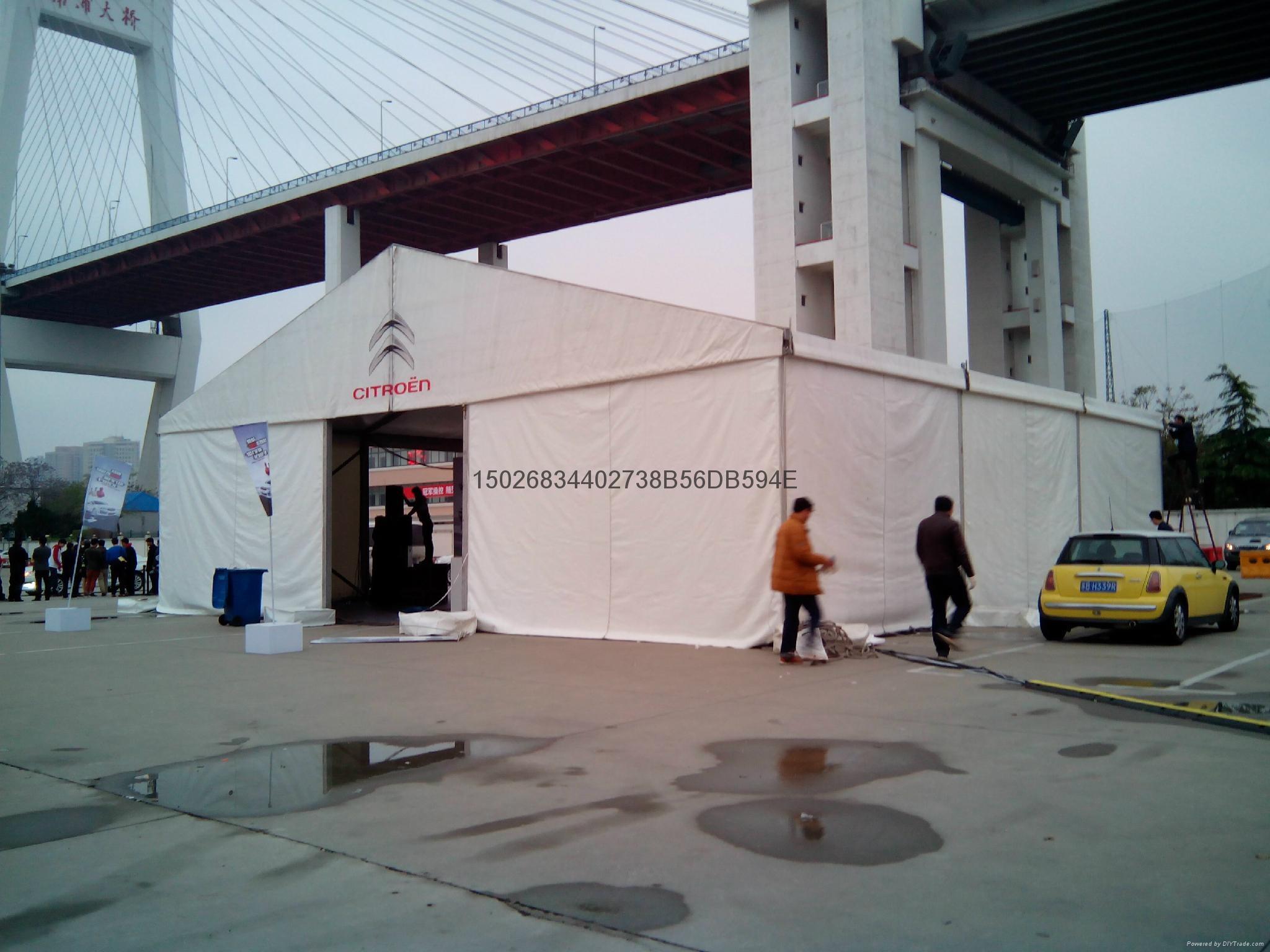上海尖頂帳篷租賃 1