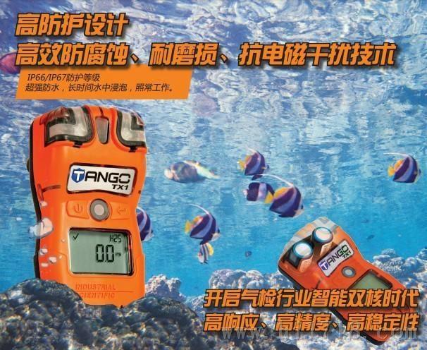雙傳感器Tango TX1便攜式有毒氣體檢測儀 1
