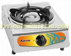 stainless steel single burner gas cooker