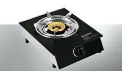 single burner glass top gas cooker