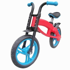 "12""kids fashion plastic balance bicycle"