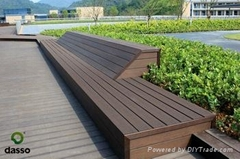 Dasso patent bamboo outdoor decking