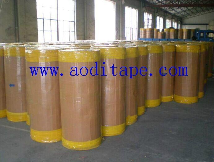 1280mmx4000m BOPP Jumbo Roll adhesive tape 4