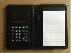 Notes Holder with calculator