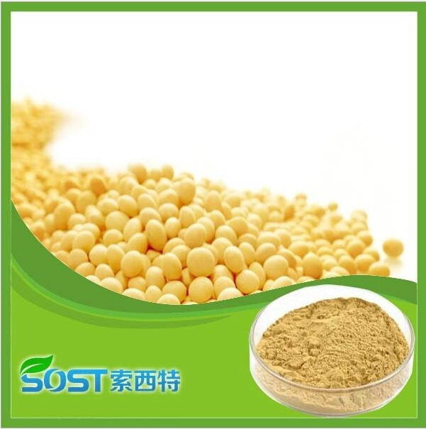 Herb extract natural soy isoflavones powder,soy isoflavone extract powder 40%  2