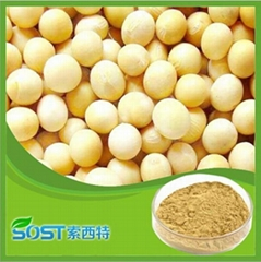 Herb extract natural soy isoflavones powder,soy isoflavone extract powder 40%