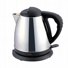 CE 1.5L fast boil electric stainless steel kettle cordless ergonomic handle