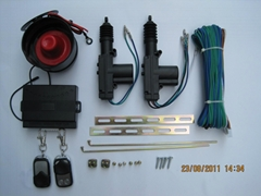 2 Door Remote central locking system with loudspeaker