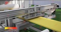單螺杆聚苯乙烯擠塑板生產線設備