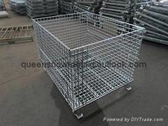 Heavy Duty Equipment Galvanized Metal Storage Cages