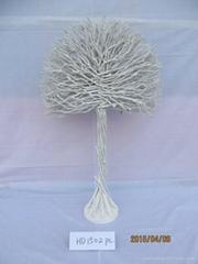 Willow indoor rattan Christmas tree