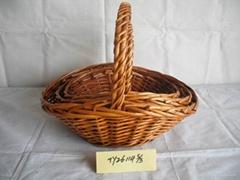 Willow fruit basket