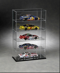 Clear acrylic car model display box/ cube display/collected box