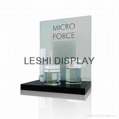 Costomized acrylic pdq display unit