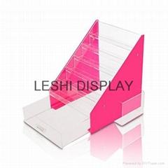 Retail acrylic counter top display