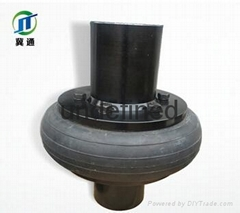 万通机械专业生产供应轮胎联轴器