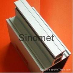 Industrial aluminum extruded profile for curtain wall