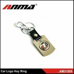 ANMA fashion key chains car logo key ring