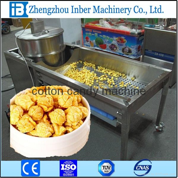 corn puffing machine