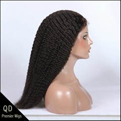 Kinky Curl Silk Top Full lace Wigs