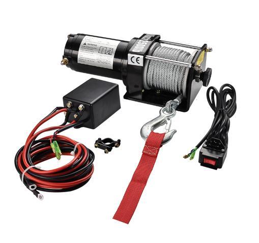 P2500-1D  ATV絞盤 2500LB 1