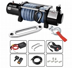 HEAVY DUTY ELECTRIC WINCHES 9500LB