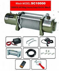 HEAVY DUTY ELECTRIC WINCHES 10000LB