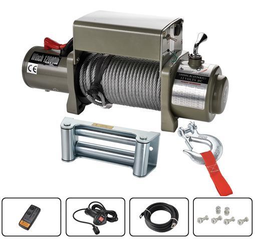 SIC12000 電動絞盤 12000lb 1
