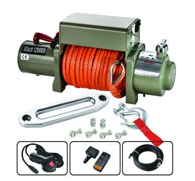 SIC12000W 電動絞盤 12000lb 1