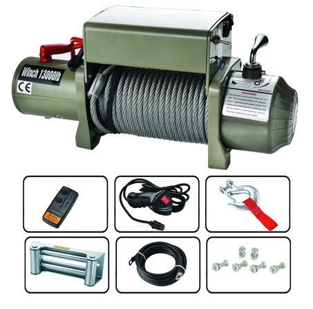 SIC13000  電動絞盤 13000lb 1