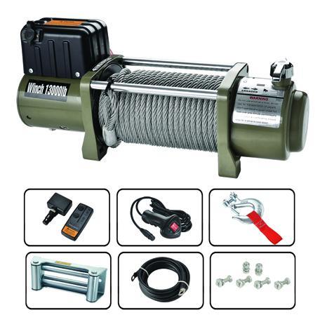 SEC13000T 電動絞盤13000lbs 1