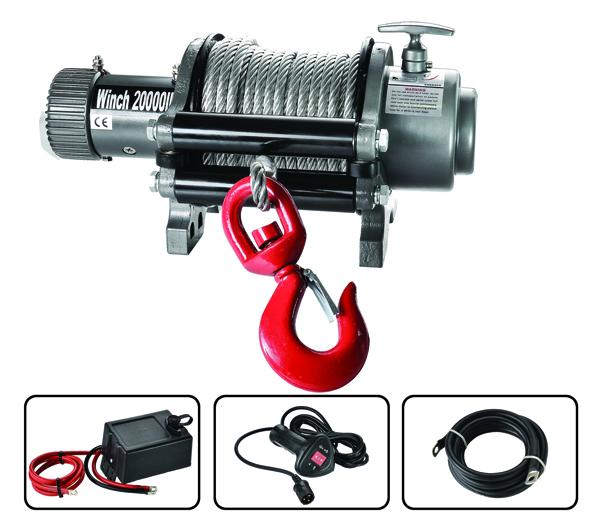 Electric Truck Winch 20000lbs CE approved  1