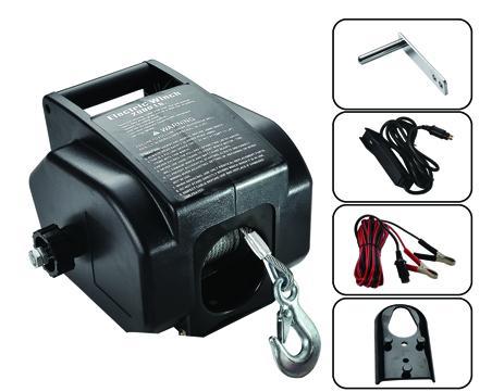 P2000-4 电动绞盘 2000LB  1