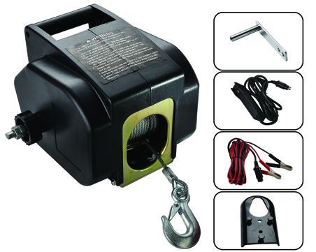 P3000-2B 電動絞盤 3000LB 1