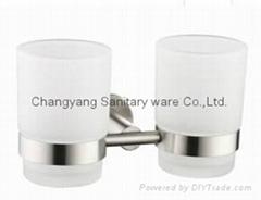 暢洋 CY-80005 304不鏽鋼雙杯架