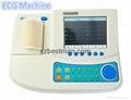 3 channels 12 leads auto interepretation ECG machine