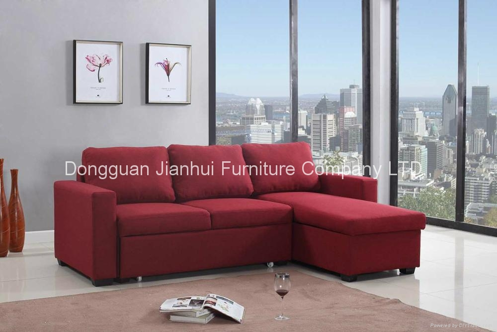 Sectional Sofa with storage cabinet  1