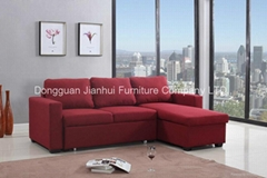 Sectional Sofa with storage cabinet