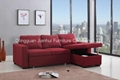 Sectional Sofa with storage cabinet  2