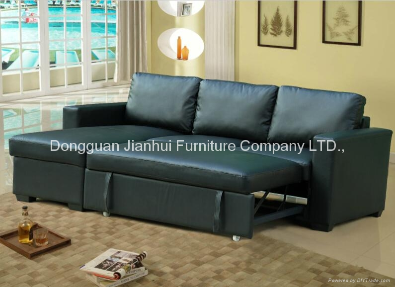 Sectional Sofa with storage cabinet  4