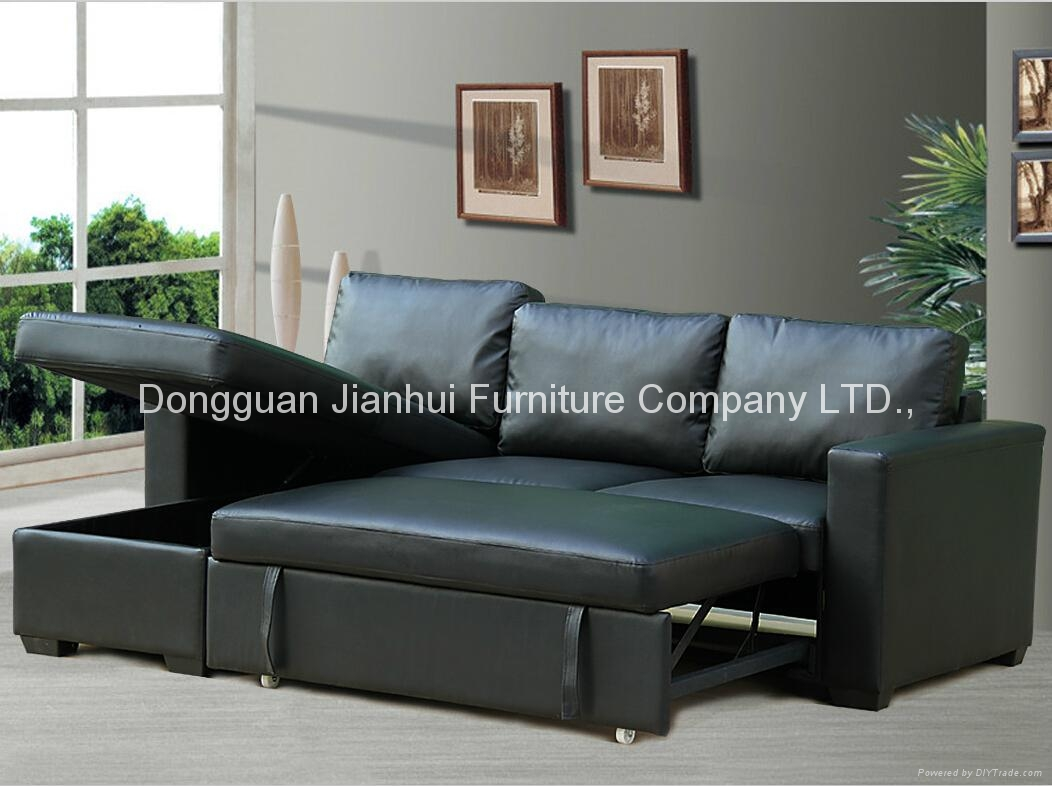 Sectional Sofa with storage cabinet  5
